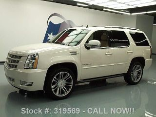 2012 Cadillac Escalade Premium Dvd 22 ' S 19k Texas Direct Auto photo