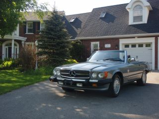1987 Mercedes Benz 560 Sl photo