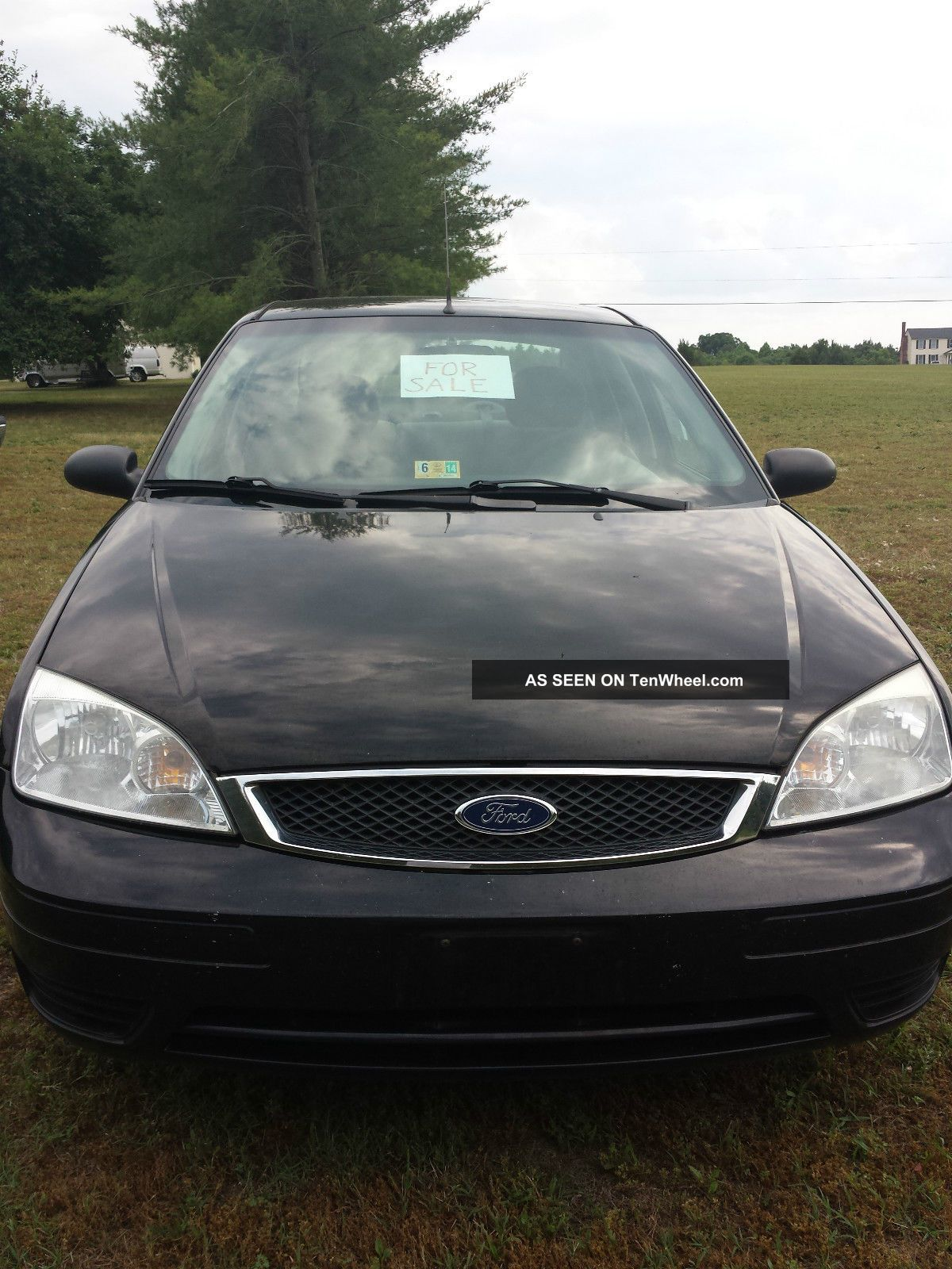 2007 Ford Focus Zx4 Se 4 Door Sedan 4 Cyl. Focus photo