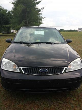 2007 Ford Focus Zx4 Se 4 Door Sedan 4 Cyl. photo
