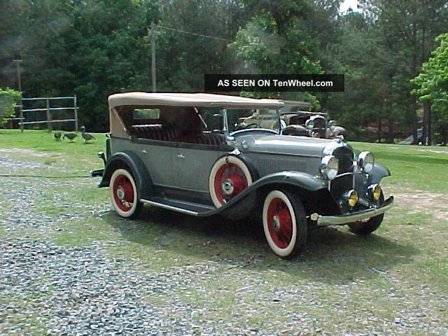 1931 Plymouth Model Pa Touring Car 1 Of 6 Known Other photo