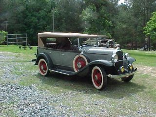 1931 Plymouth Model Pa Touring Car 1 Of 6 Known photo