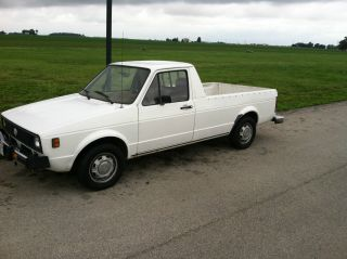 1980 Volkswagen Diesel Rabbit Caddy Pickup Truck photo