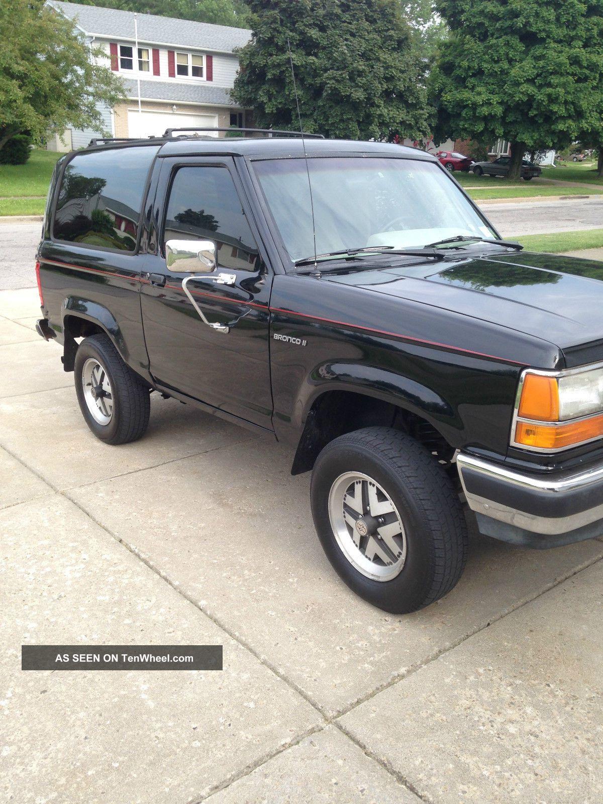 1989 Ford Bronco Ii 4x4 Eddie Bauer