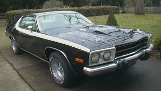 1973 Plymouth Roadrunner 2 Dr Coupe All Original& Excellent Paint Classic photo