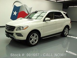 2012 Mercedes - Benz Ml350 4matic Awd Pano Roof 19k Texas Direct Auto photo