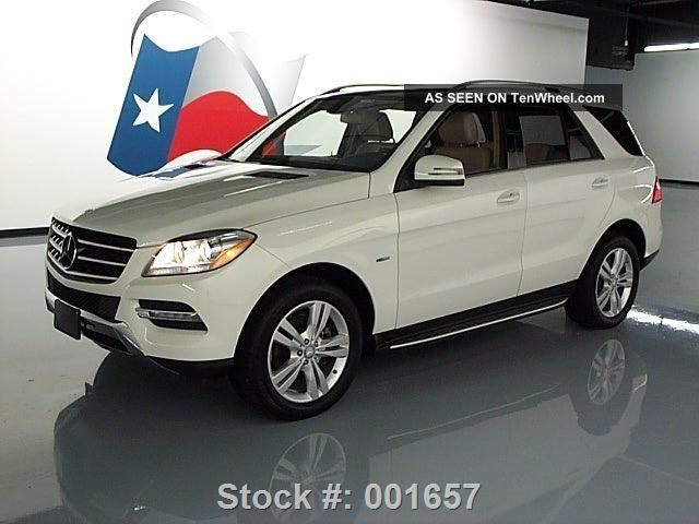 2012 mercedes benz ml350 4matic awd pano roof 19k texas for Mercedes benz ml350 4matic 2012