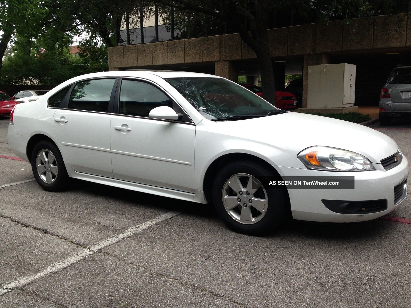 2010 Chevrolet Impala Lt Sedan 4 Door 3 5l