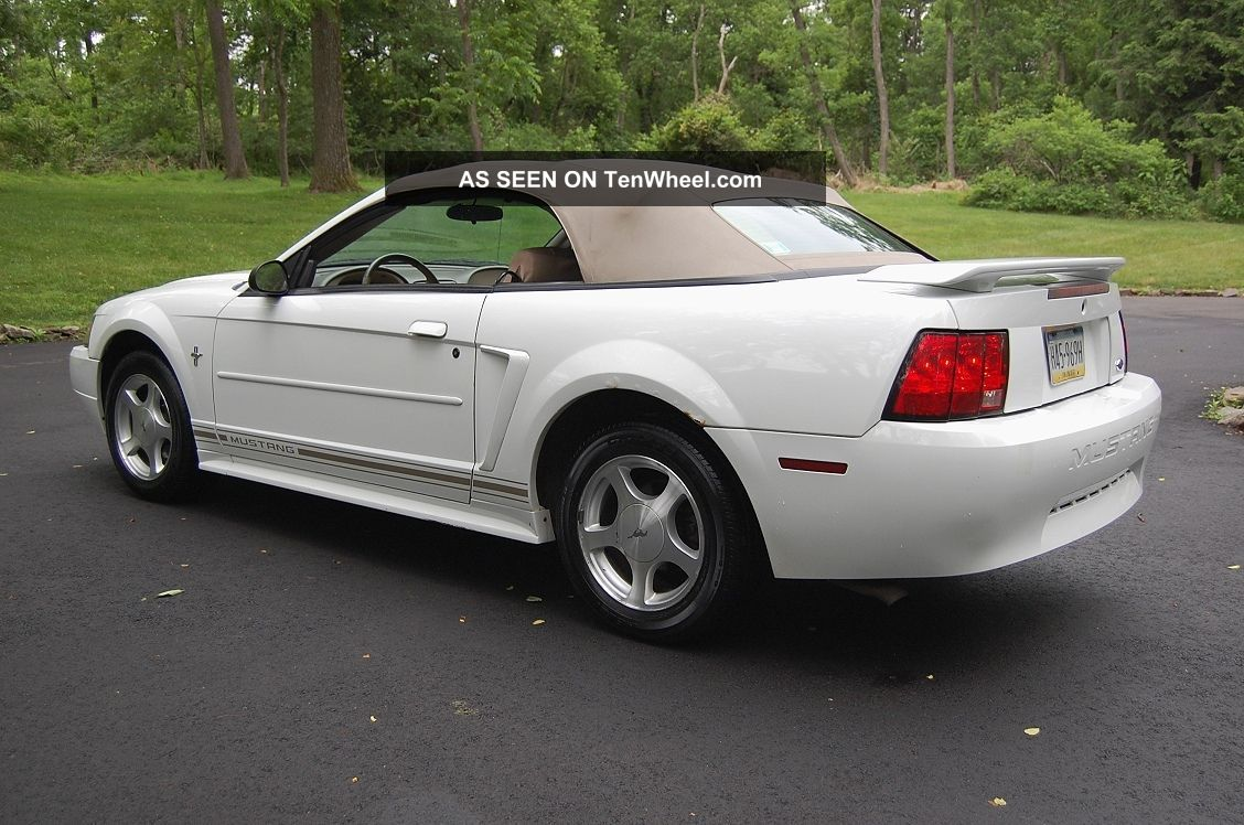 Very Cool 2001 Ford Mustang Convertible, 3. 8 Liter, Auto ...