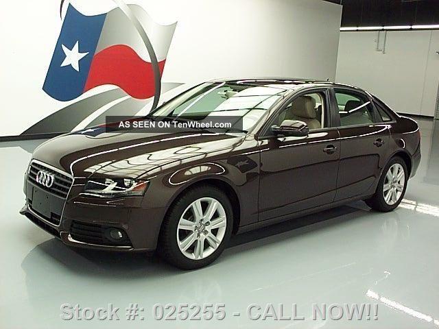 2011 Audi A4 Premium Turbocharged 22k Texas Direct Auto A4 photo