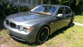 2004 Bmw 745i Base Sedan 4 - Door 4.  4l photo