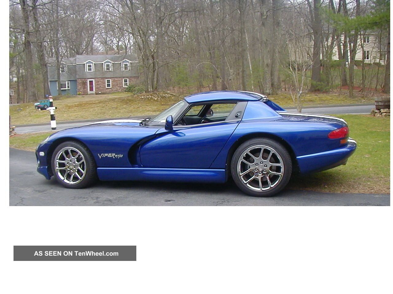 Stunning Rt10 1999 Dodge Viper Roadster / Convertible W / Hardtop & Many Extra ' S Viper photo