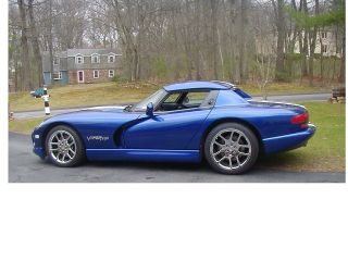 Stunning Rt10 1999 Dodge Viper Roadster / Convertible W / Hardtop & Many Extra ' S photo