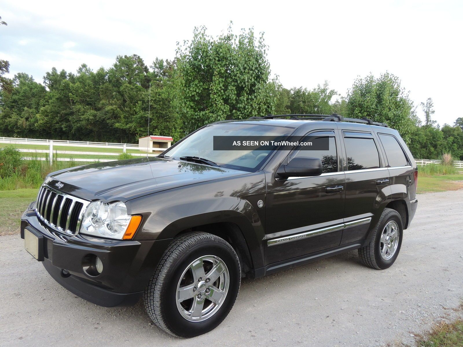 2005 Jeep Grand Cherokee Limited Sport Utility 4 Door 5 7l