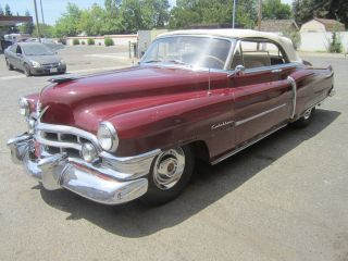 1950 Cadillac Series 62 Convertible.  Good Car,  Needs Restoration. photo