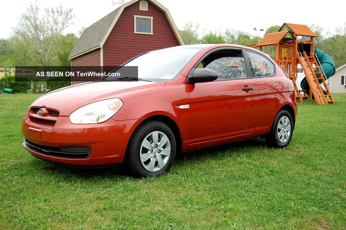 Very,  Great Running 2008 Hyundai Accent 2dr. . ,  1.  6 L,  Auto Trans Accent photo