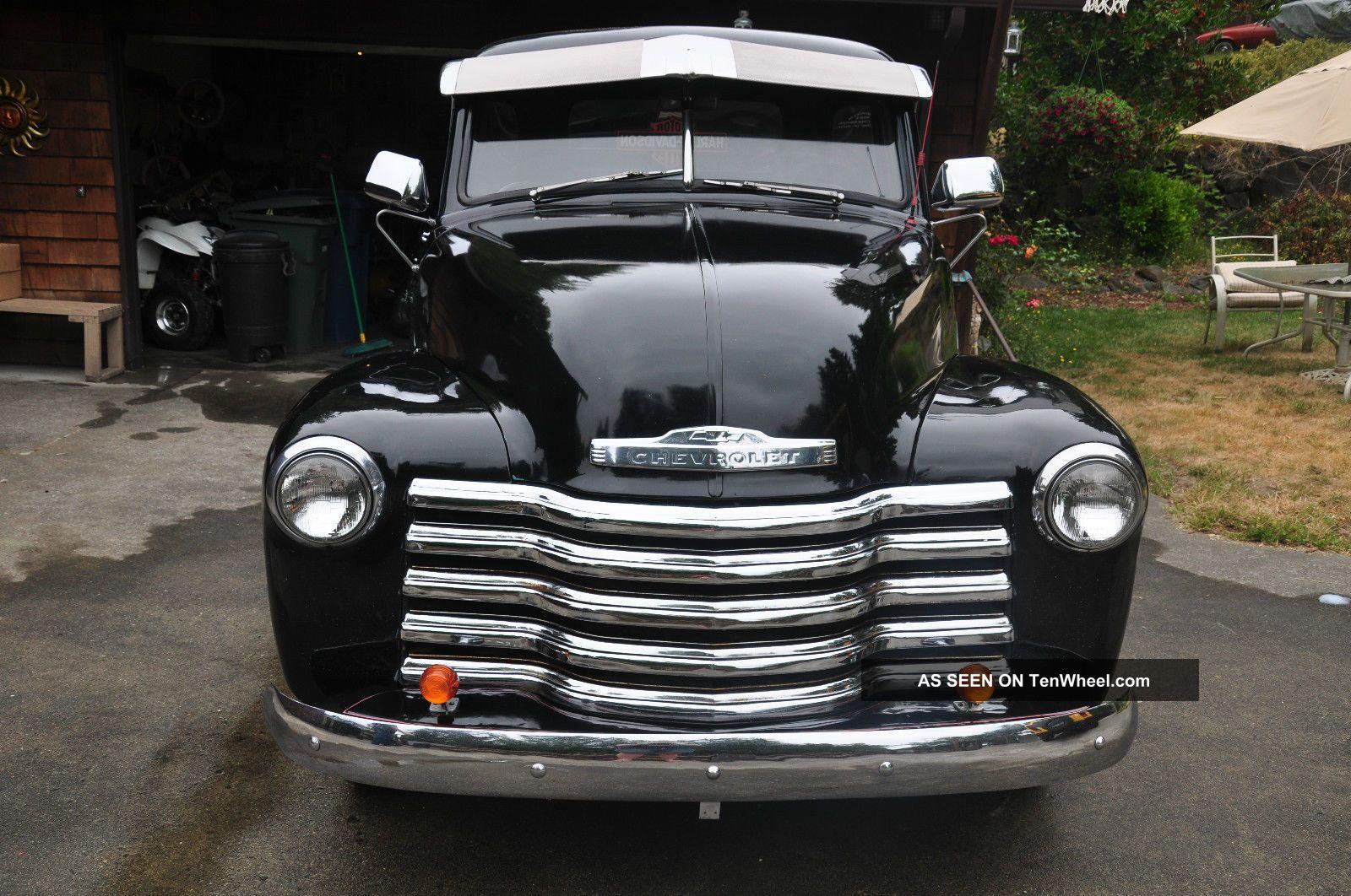 1953 Chevrolet Truck 5 Window