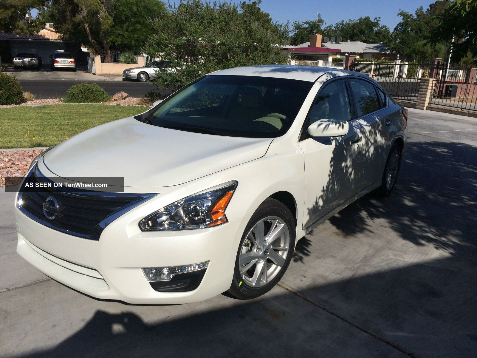 2014 Nissan Altima Sv Sedan 4 Door 2 5l