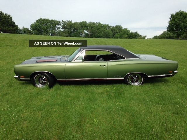 1969 Plymouth Gtx 440 6 Pack Clone