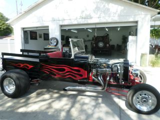 1929 Ford Pick Up Pickup Convertible Truck Hot Rod Rat Rod photo