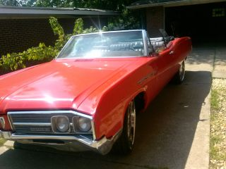 1968 Buick Lesabre Convertible With Custom Wheels photo
