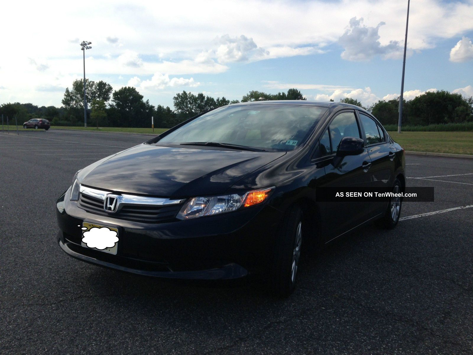 2012 honda civic lx sedan 4 door 1 8l 14300. Black Bedroom Furniture Sets. Home Design Ideas