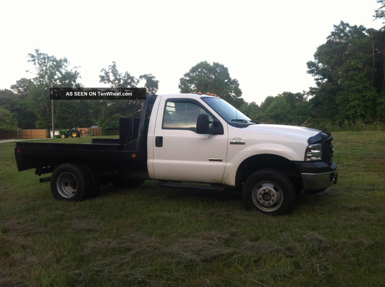 ford  xl flatbed powerstroke