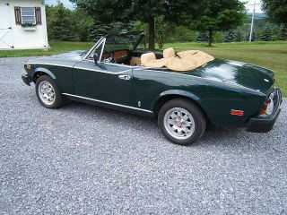 1982 Fiat Spider Convertible photo