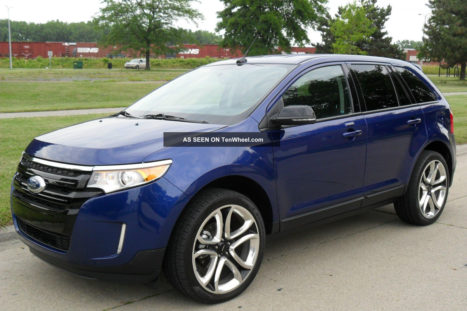 2013 Ford Edge Sel Sport Utility 4 Door 3 5l