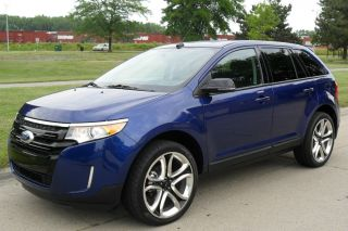 2013 Ford Edge Sel Sport Utility 4 - Door 3.  5l photo