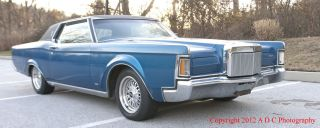 1970 Lincoln Continental Base 7.  5l photo