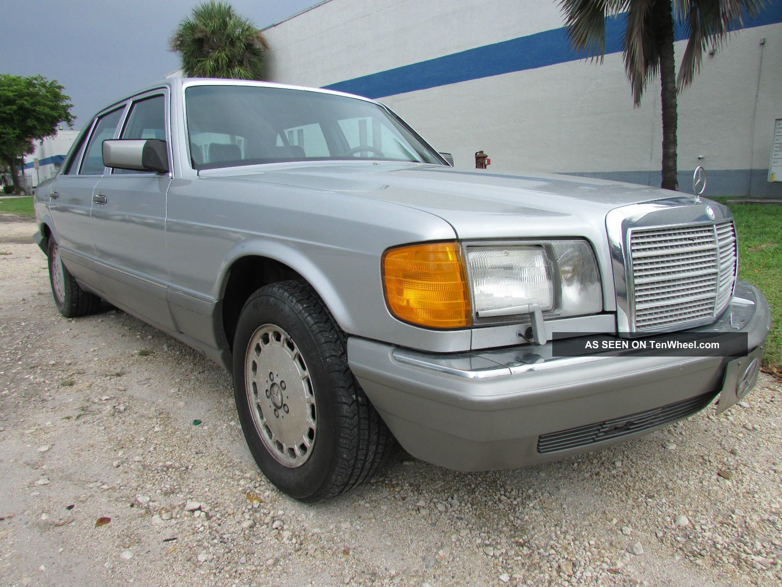 1986 mercedes benz 300 sdl turbo diesel silver title for Mercedes benz 300 diesel