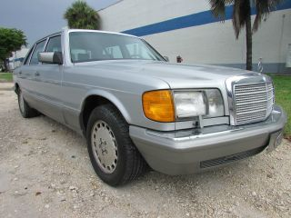 1986 Mercedes Benz 300 Sdl Turbo Diesel + Silver + Title + photo