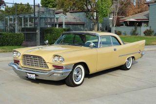 1957 Chrysler 300c Hemi 392 / At Ps Pb Rare Factory Special Paint Car photo