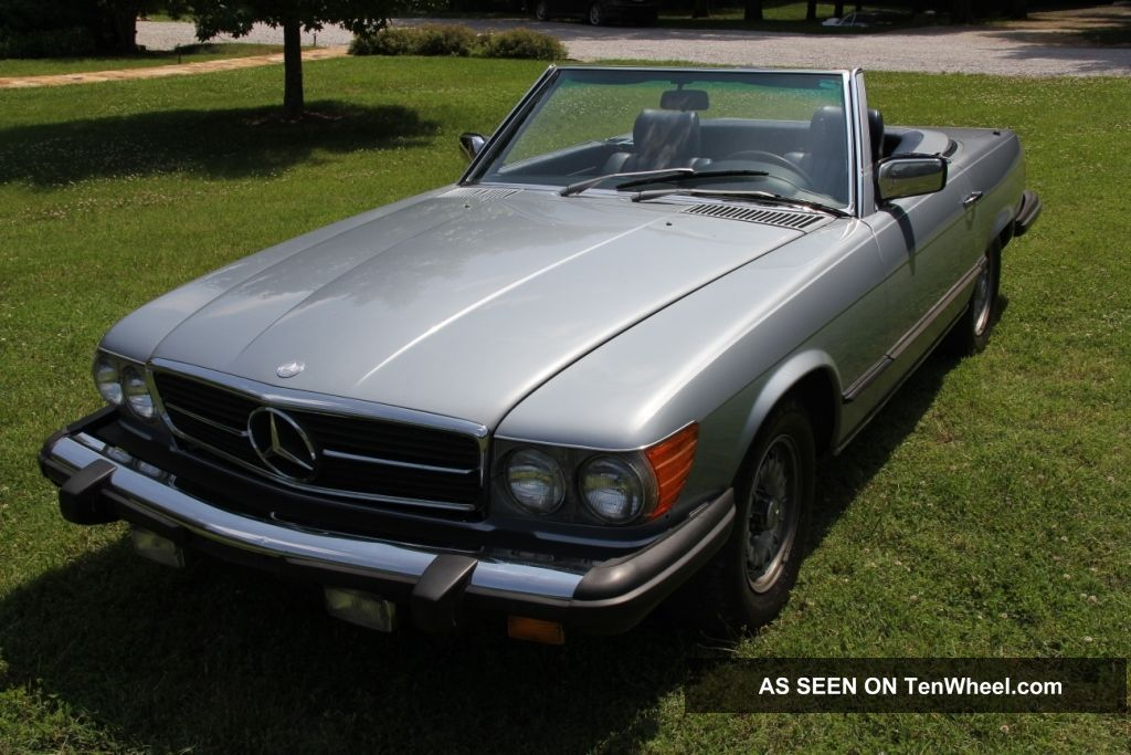 1980 mercedes benz 450sl roadster convertible r107 for Hardtop convertible mercedes benz