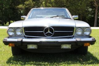 1980 Mercedes - Benz 450sl Roadster / Convertible (r107) With Hard Top photo