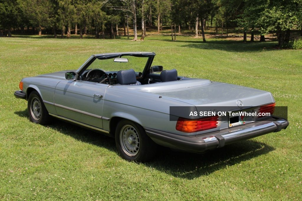 1980 mercedes benz 450sl roadster convertible r107 for Mercedes benz sl convertible