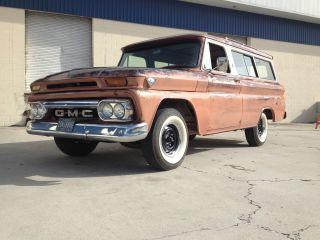 1960 - 66 Chevrolet Gmc Pickup Suburban Rat Rod Patina Panel Old School photo