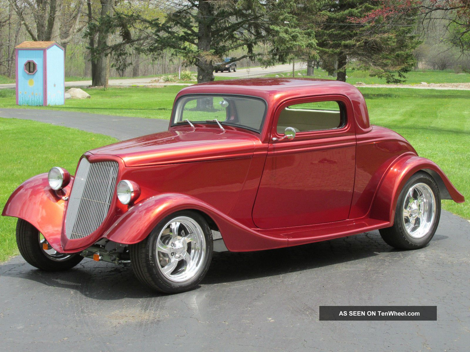 1934 ford 3 window coupe street rod for 1934 ford 3 window coupe pictures