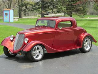 1934 Ford 3 - Window Coupe Street Rod photo