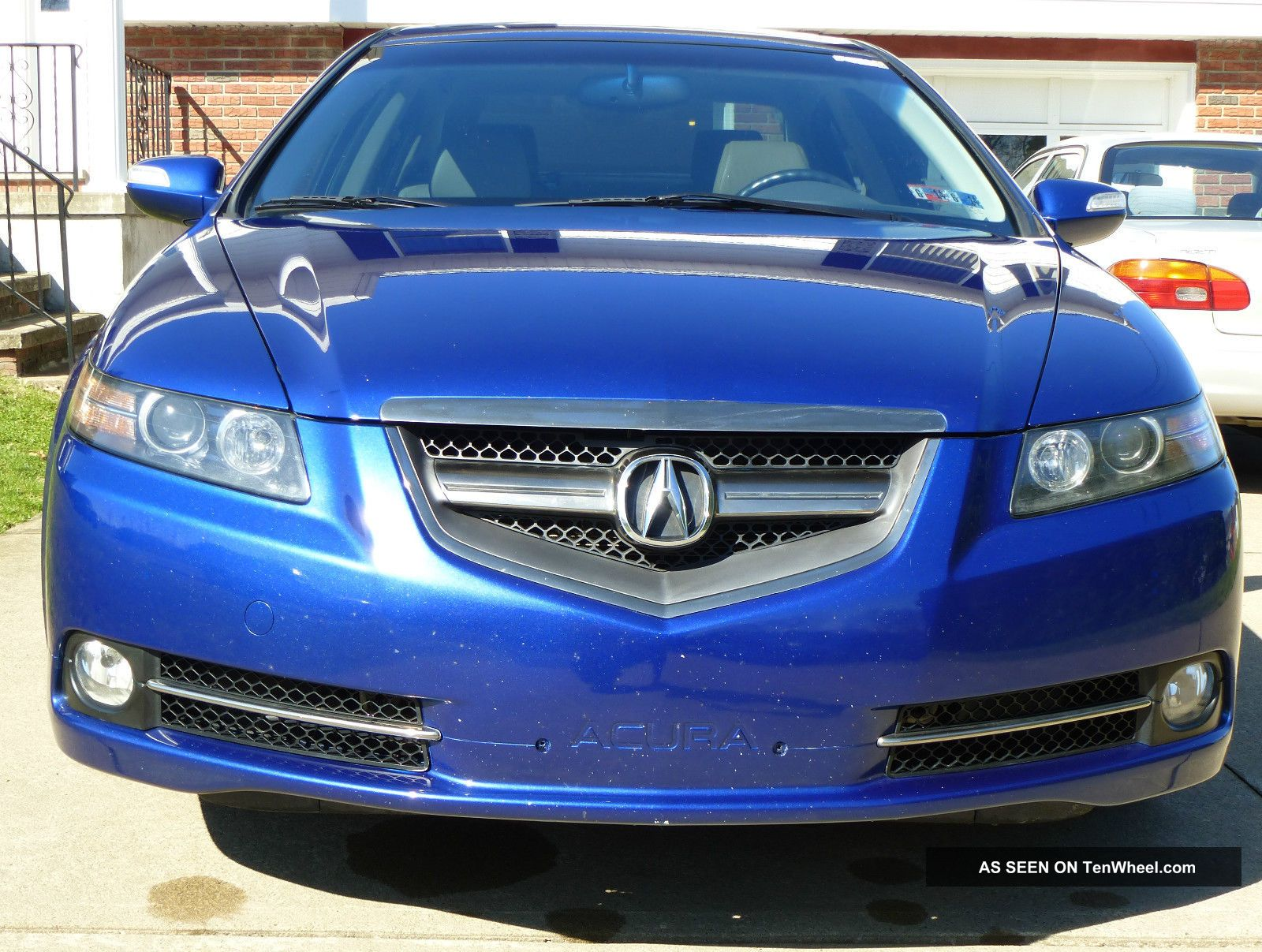 2007 acura tl type s 4 door 3 5l v6 6spd manual transmission. Black Bedroom Furniture Sets. Home Design Ideas