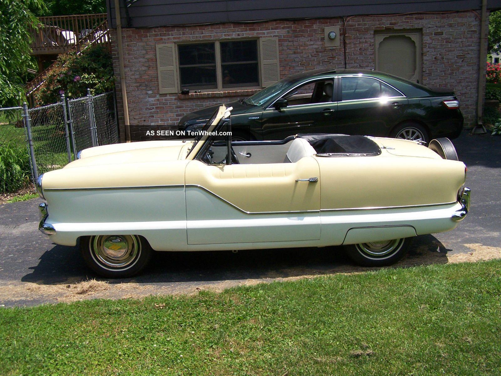 1961 Nash Metropolitan Convertible - Nash photo