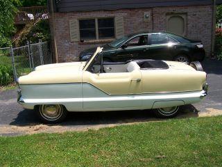 1961 Nash Metropolitan Convertible - photo