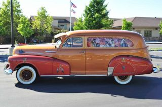 Custom 1947 Chevy Sedan Delivery 1 Of A Kind Native American Tribute Showpiece photo