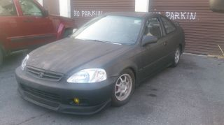 1996 Honda Civic Ex - Minor Tune Ups - Most Noticeable,  2000 Front photo