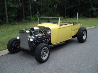 1928 Chevy Roadster - Pickup,  Hot Rod,  Street Rod photo