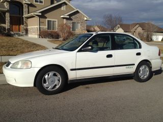 2000 Honda Civic Gx Cng Natural Gas 4 Door Automatic photo