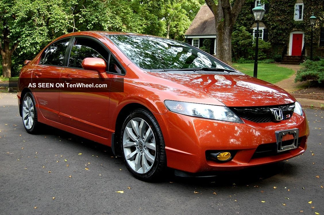 Honda civic si mt side exterior view pictures for Cool honda civic
