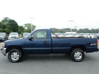 2001 Gmc Sierra 1500 4x4 5.  3l Vortec 8 Ft Bed photo