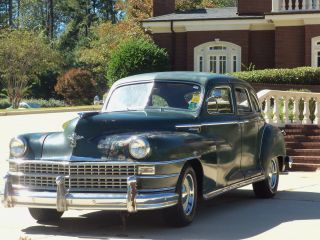 1946 Chrysler Windsor Survivor Air Conditioner photo